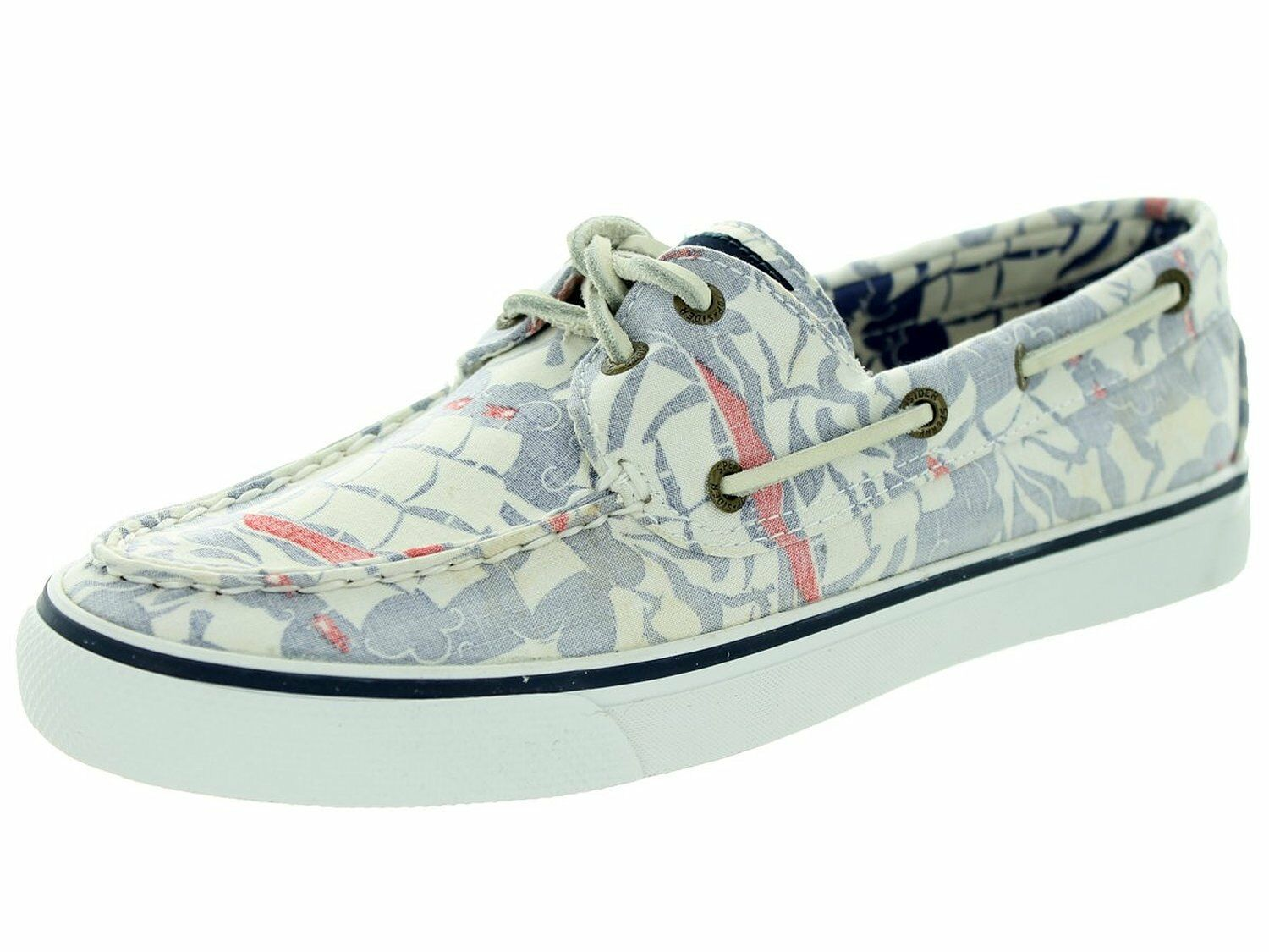Damens Sperry Top-Sider Bahama Blau Ship 2-Eye Boat Schuhe, STS93634 Größe 6