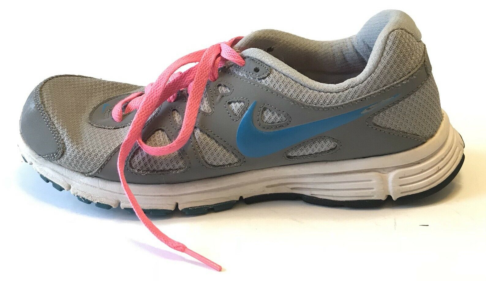 nike  révolution 2 chaussures chaussures taille 9 Gris  nike rose 25654a