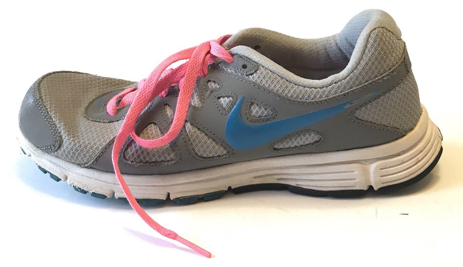 new style 13625 b93bf ... Nike Revolution 2 Sneakers Size 9 Gray Pink Running Shoe Shoe Shoe  0c28da ...