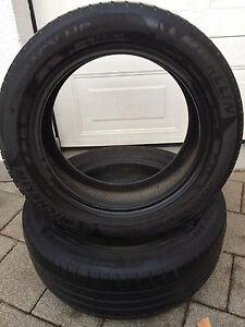 2x-Michelin-Energy-Saver-Sommerreifen-205-55-R16-91V-DOT3010-PT-4-8mm-Sommer