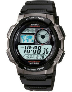 NEW-Casio-Digital-AE1000W-1B-Watch-Black