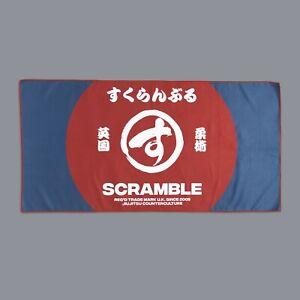 Scramble-Gym-Serviette-Bleu-Rouge-Laver-Bjj-Plage-Jiu-Jitsu-Mma-No-Gi