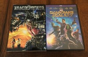 DVD Lot of 2: Transformers: Revenge of the Fallen & Guardians of The Galaxy