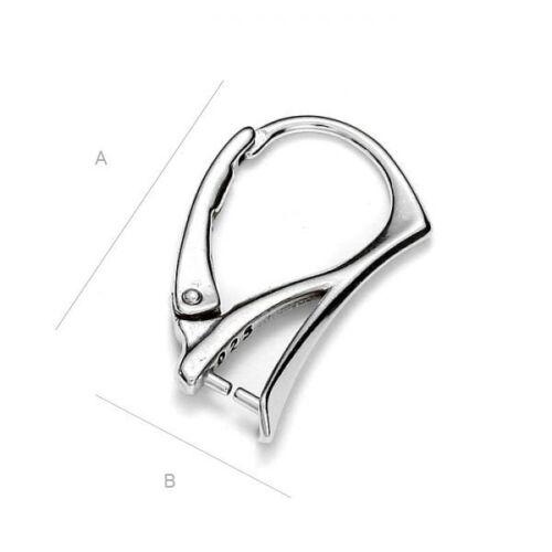 best quality Sterling silver 925 leverback earring hook