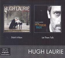 HUGH LAURIE - DIDN'T IT RAIN/LET THEM TALK 2 CD NEU
