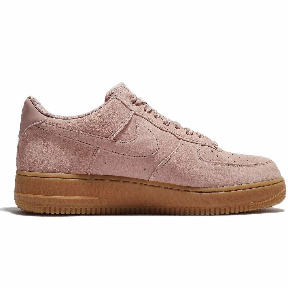 Comfortable and good-looking Nike Men's Air Force 1 07 LV8 Suede Basketball Shoes