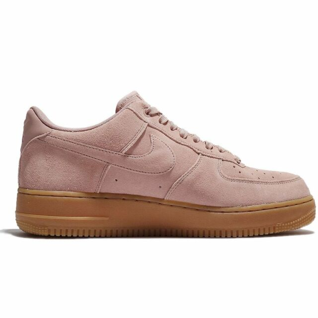 41f37bafc9802b Aa1117 600 Nike Air Force 1 Low  07 Lv8 Suede Pink Gum Rose Brown ...
