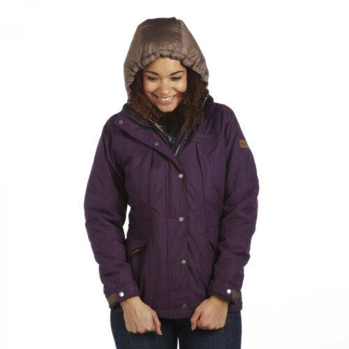 REGATTA KIMMY LADIES  WATERPROOF JACKET WARM INSULATED WOMEN/'S RAINCOAT RWP133