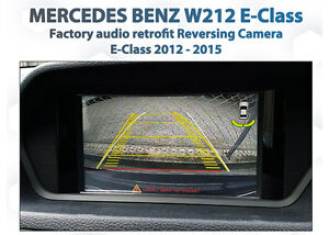 Mercedes-Benz-W212-C207-E-class-Rearview-backup-reverse-camera-Retrofit-Kit
