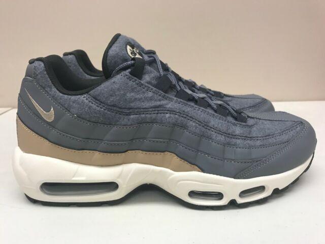 Nike Air Max 95 Premium Cool Grey Pewter Mushroom 538416 009