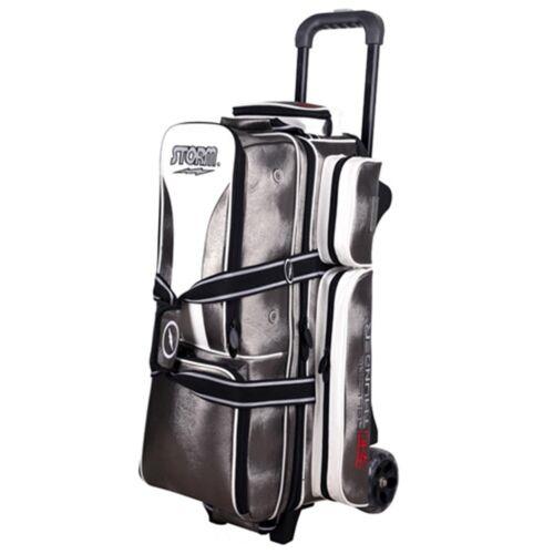 Storm Rolling Thunder Signature Platinum 3 Ball Roller Bowling Bag