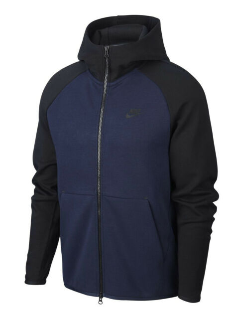 Men S Nike Tech Fleece Pullover Hoodie Black 832116 Medium M Rare For Sale Online Ebay