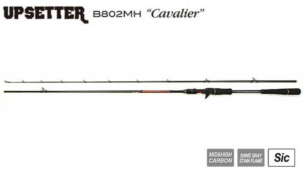 TICT Shore Jigging Baitcasting Rod UP SETTER B802MH Fast Cavalier Fast B802MH Ship Japan EMS b7b738