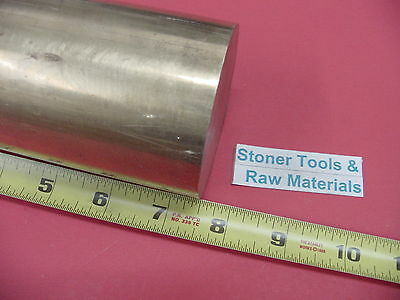 """2 Pieces 3/"""" ALUMINUM 6061 ROUND ROD 6.5/"""" long Solid 3.00/"""" OD Lathe Bar Stock NEW"""