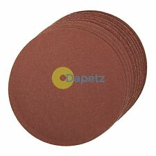 Self-Adhesive Sanding Discs 150mm 10Pk - 2 X 60G, 4 X 80G & 4 X 120Grit