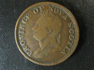 NS-4A2-One-Penny-token-1832-Canada-Nova-Scotia-PNS-453-Breton-870