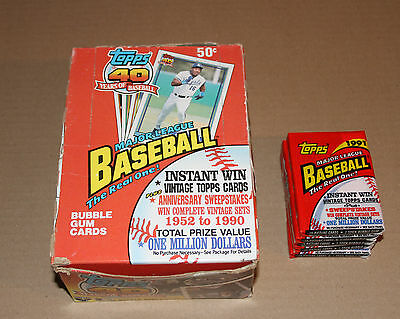 Fan Apparel & Souvenirs Baseball-other Beautiful Baseball 1991 O-pee-chee 2 Pack Be Friendly In Use