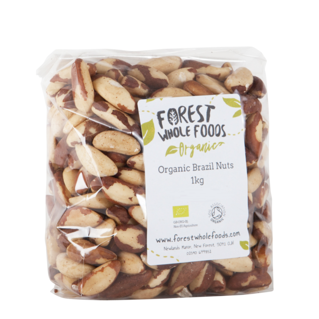 Forest Whole Foods - Organic Brazil Nuts ( UK Delivery) 2kg