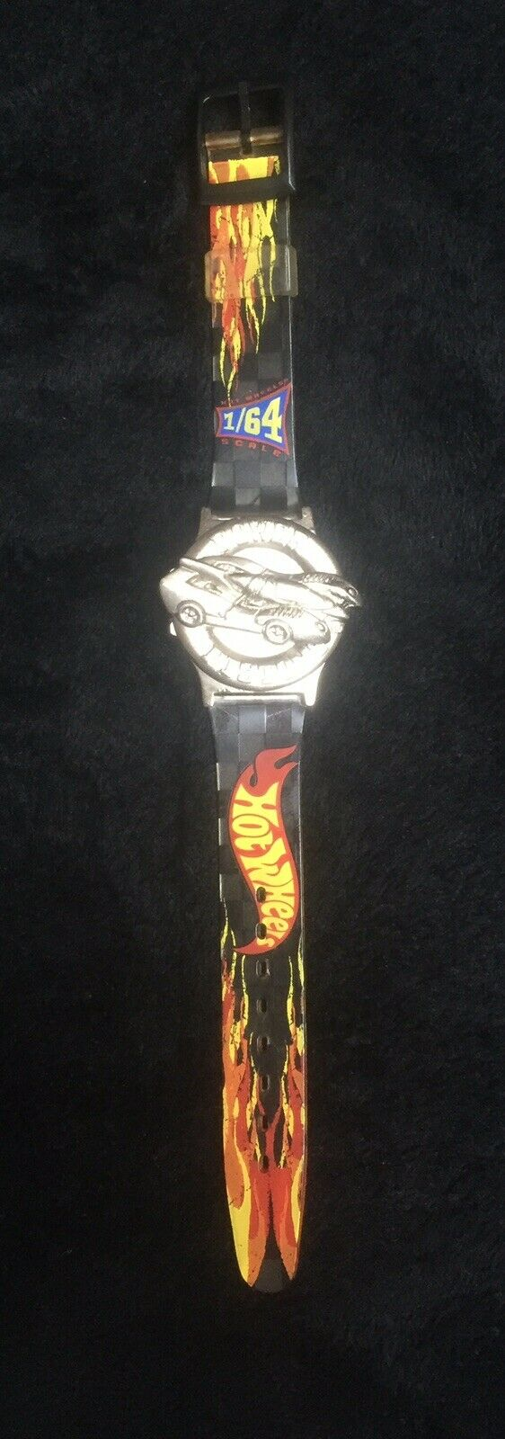 Vintage 1997 Hot Wheels Watch Power Pistons   Extremely RARE   Heavy 1 64 Scale