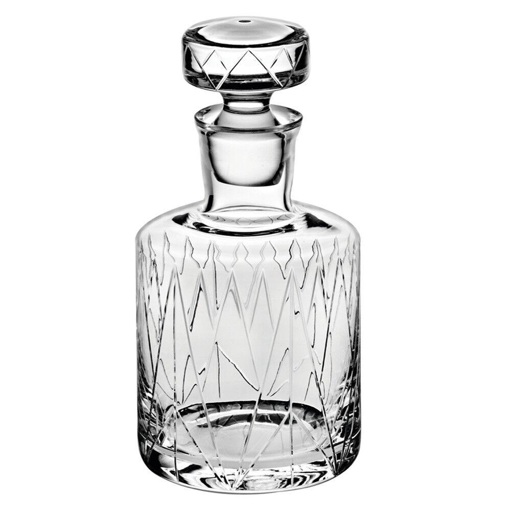 Vista Alegre Crystal Glass Astro Whisky Decanter