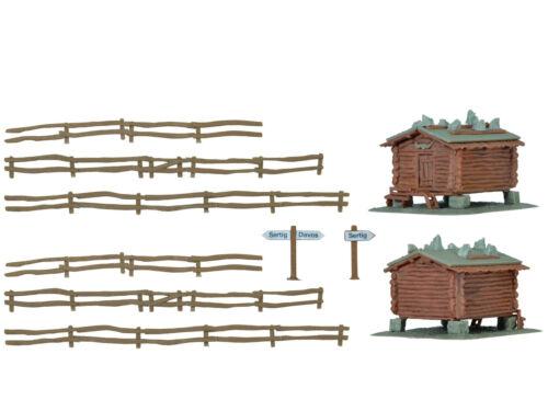 Kibri 37028-Stadel con RECINZIONE Sertig 2x-Traccia N-NUOVO