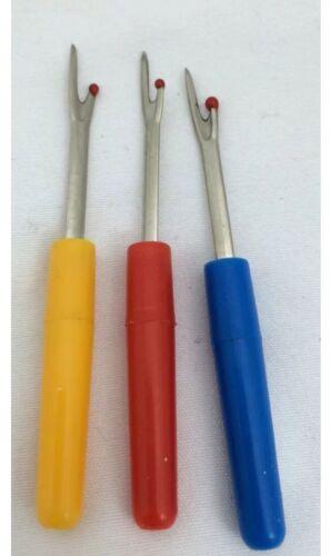 4pc Puntada Destripador de la costura herramienta de Artesanía Coser unpicker Mango De Plástico Hilo Cúter