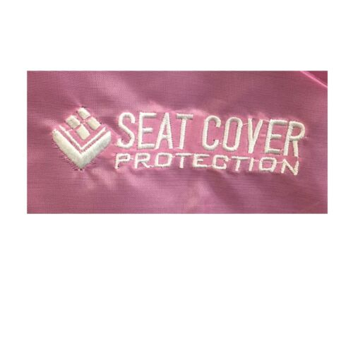 2 Pink Waterproof Nylon Car Seat Covers For Ford Transit Connect Tourneo Escort