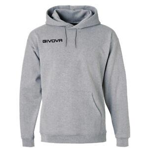 Felpa-Con-Cappuccio-New-Givova-Uomo-Donna-Unisex-Sport-Relax-Comfort-GIOSAL