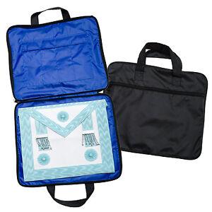 New-Quality-Lightweight-Masonic-Regalia-Soft-Case-Apron-Holder-Bag-MM-WM