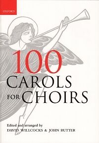 10 Pack 100 CAROLS FOR CHOIRS Willcocks//Rutter