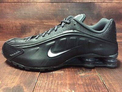 47acc546e5a Nike Shox R4 Running Shoes Black White Anthracite SZ 8 ( 104265-039 )