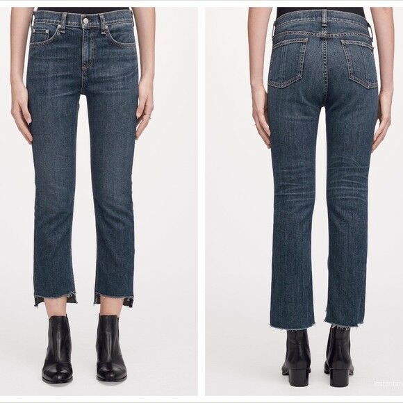 Rag and Bone Jean 10 inch Stovepipe Jeans