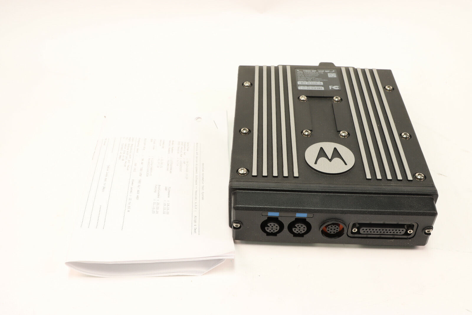 Motorola APX7500 VHF - 7/800 Astro P25 (5) Algos *Brick Only. Buy it now for 2650.00