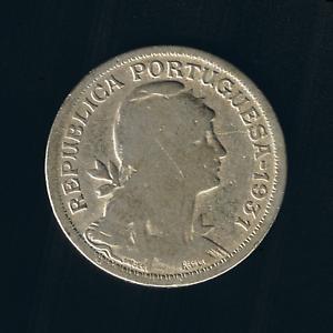 Portugal - 50 Centavos - 1931
