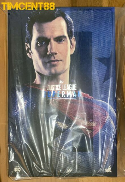 Ready Hot Toys MMS465 Justice League Superman Henry Cavill 1/6 Figure New