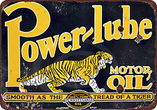 Bengal Gasoline Reproduction Motor Oil Metal Sign 24x24 Round RVG712-24