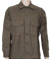 Vintage Army Wool Field Shirt Genuine Issue Size Medium