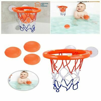 2 Stuck Cups 3 Colorful Balls Bathtub Toy Pirate Boat with Propeller ReechTree Bathtub Basketball Hoop Bath Toy for Toddlers and Kids 1 2 3 Years Old Best Gifts for Boys or Girls Birthday