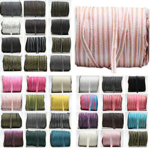 35-Style-10MM-Sparkle-Glitter-Velvet-Ribbon-Headband-Clips-Bow-Decor-20Yards