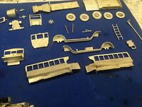 Ulrich Collection O Scale 1/48 On3 Model T Ford Bus All Metal