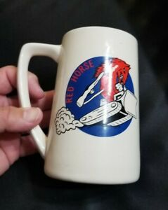 air force usaf  civil engineering squadron ces red horse unit stein mug ebay