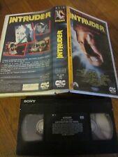 Intruder de Scott Spiegel, VHS CIC, Horreur, RARE!!!!
