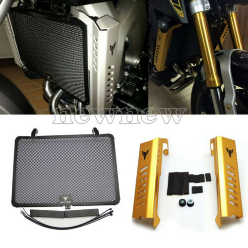 Radiator Grille Guard Side Cover Protector For Yamaha MT-09 FZ-09 2014-2017