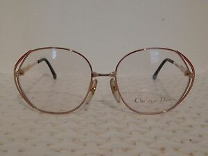 2583ef0646f Christian Dior 2302-48 Vintage 80 s Womens Eyeglass Frames (BB22)