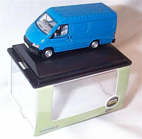 Oxford 76FT3009 1//76 Ford Transit MK3 Gentiane Bleu Nouveau en cas