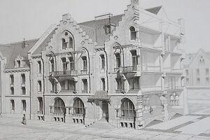 Architecture-Viollet-le-Duc-Habitations-Modernes-MAISON-HAMBOURG-ALLEMAGNE