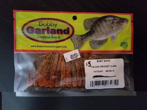 Bobby Garland Baby Shad 18ct Cajun Chicken**