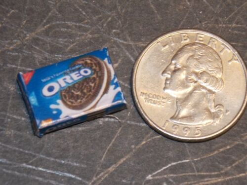 Dollhouse Miniature Chocolate Cookies Food Box 1:12 scale G22 Dollys Gallery