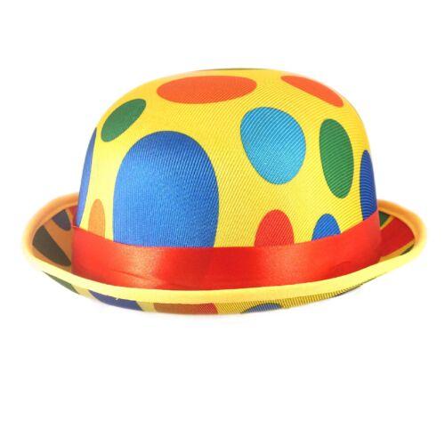 Adult Clown Joueurs de bowling a Fancy Dress Fun World Book Day Accessories Mr Tumble Spot