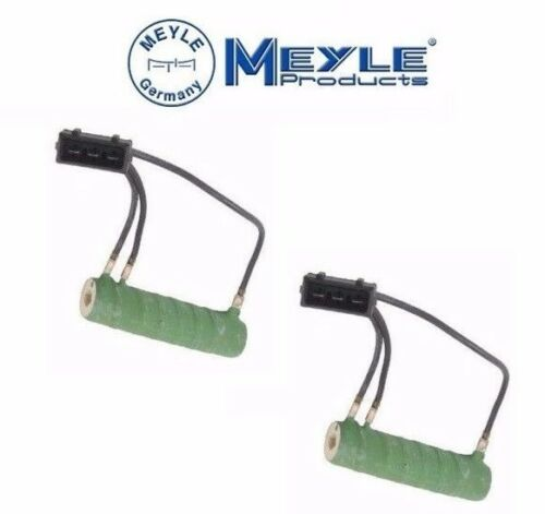 2 For VW EuroVan Transporter Engine Cooling Fan Resistor Meyle 701959263D